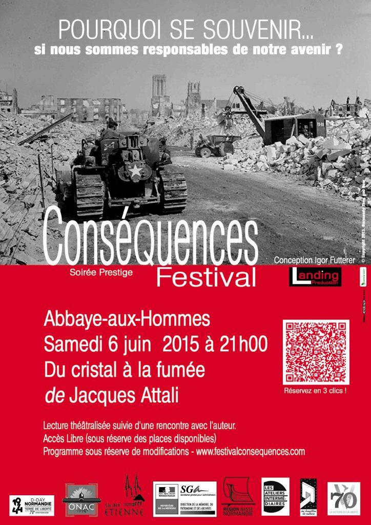 Festival Conséquences 2015-Poster-©Landing Production