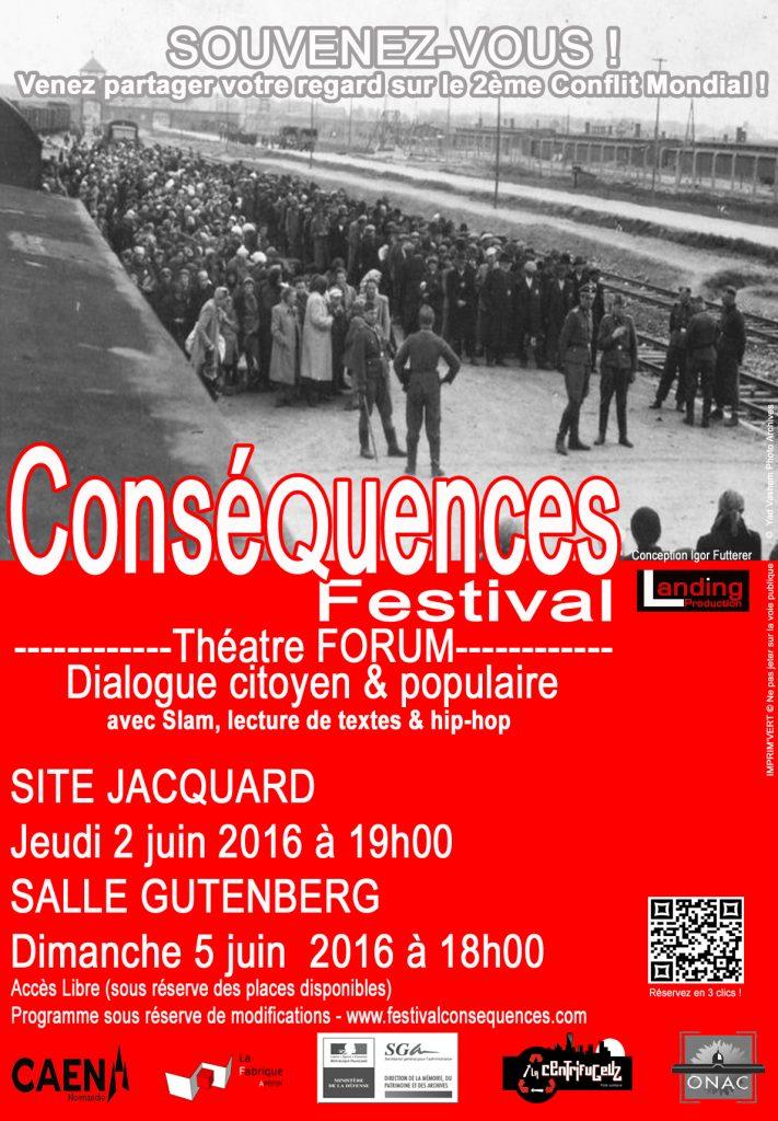 Festival Conséquences 2016-Poster-©Landing Production