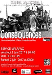 Festival Conséquences 2017-Poster-©Landing Production